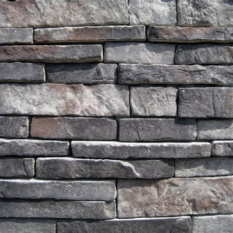 black bear pallets manufactured stone southern stacked stone midnight stacked stone 10 sq ft
