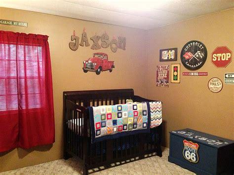 Car Crib by Jaxson S Vintage Car Themed Nursery Future