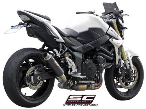 Knalpot Racing Suzuki Gsx Sc Project Carbon sc project slip on suzuki gsr 750 gp m2 carbon s07 18c the motor shop for all bike
