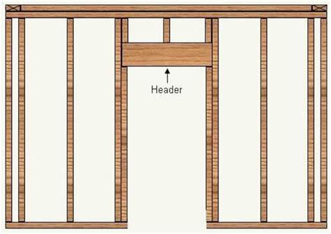 how to frame a door opening door frame how to frame door opening in a wall