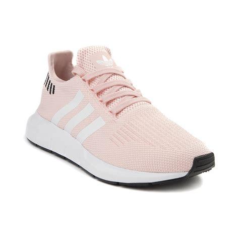 womens adidas swift run athletic shoe pink