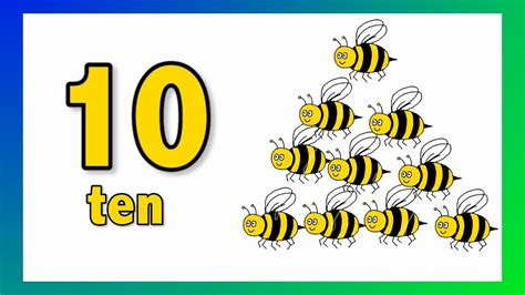 imagenes de ingles y español aprender los n 250 meros en ingl 233 s videos para ni 241 os youtube