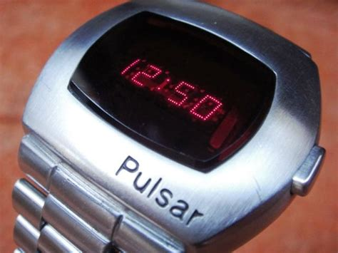 pulsar p2 time computer led 1972