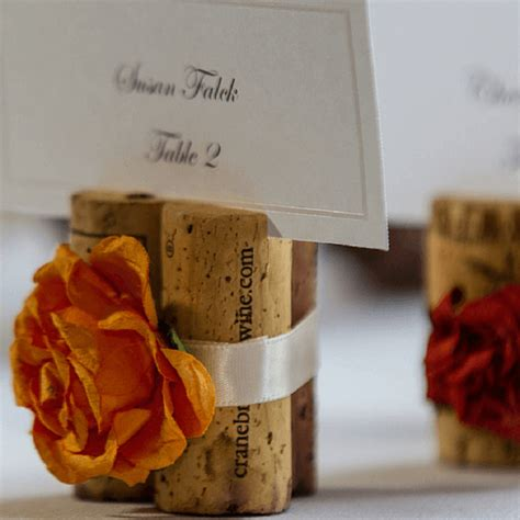 cork place card holders diy diy autumn cork crafts 10 ideas you ll fall in with