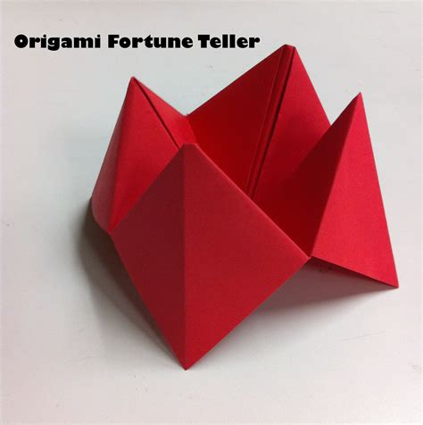 origami paper craft for crafts easy origami fortune teller the jumpstart