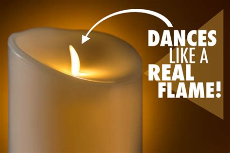luminara fireless candle ultra realistic flameless candle