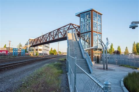 Ft Plans by Lafayette Pedestrian Bridge