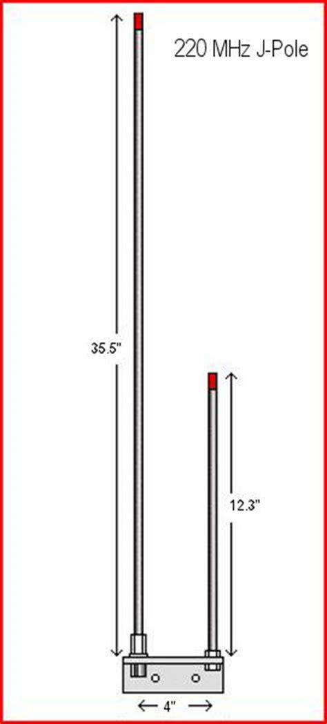 vhf open stub  poles amateur radio club oroville ca
