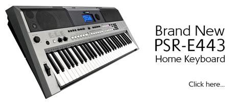 Keyboard Psr E443 yamaha psr e443 digital keyboard 61 key touch resp end 3