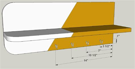 Entryway Storage drop zone shelf buildsomething com