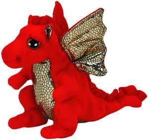 2017 orignal ty beanie boos big eye red legend dragon plush toys stuffed animals toys