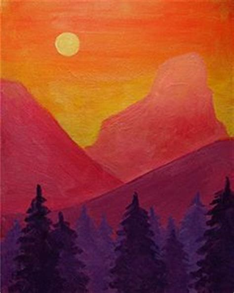 paint nite mountain view the world s catalog of ideas