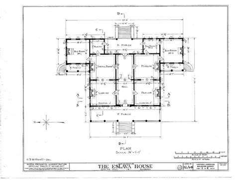 Southern Plantation Floor Plans Southern Plantation Style Traditional Floor Plan Portland By Historic Home Plans