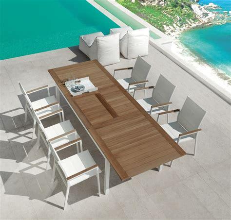 tavolo sedie esterno tavolo da pranzo allungabile per esterno idfdesign