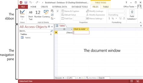 2016 Access Query Command For Finding Mba In A Name by Image Gallery Access 2013 Field