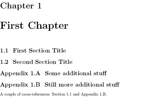 latex appendix tutorial appendices table of contents and subappendices tex