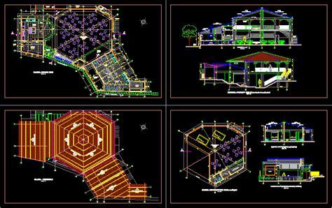 restaurant dwg section  autocad designs cad