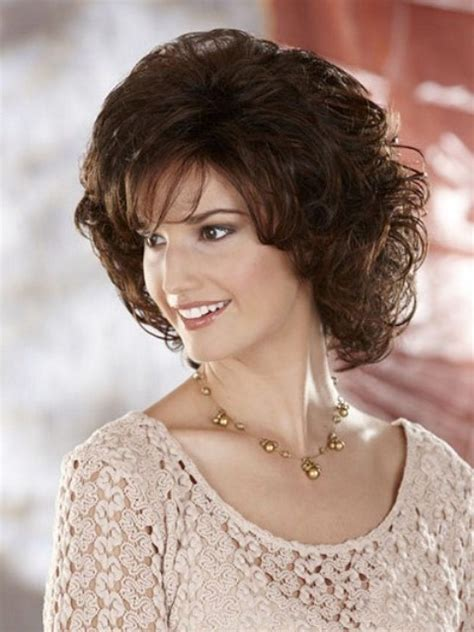 medium length naturally curly haircuts for round faces trendy medium length hairstyles for round faces pictures
