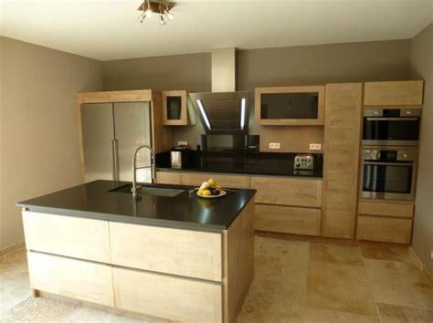 ilot cuisine bois ilot central cuisine bois photos de conception de maison