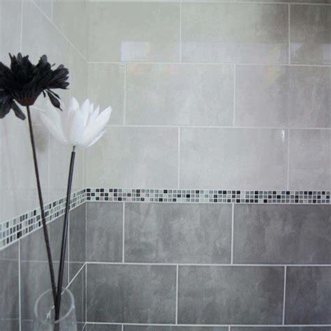 Bathroom White Wall Tiles by 40x25 Andes Dk Grey Andes Bathroom Wall Tiles Wall