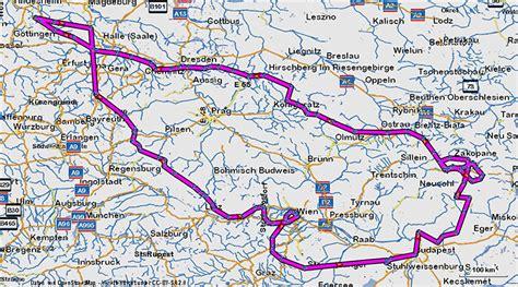 Motorradtouren Polen Tschechien by Tschechien 214 Sterreich Ungarn Slowakei Polen In 8 Tag
