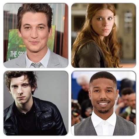 With The 4 Cast Revealed by Flixploitation Bullshit Fantastic Four Reboot Cast