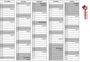 Kalender 2018 Excel Nederlands Schoolkalender 2017 2018 En 2018 2019 Katholiek