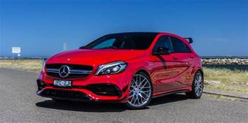 2016 mercedes amg a45 4matic review caradvice