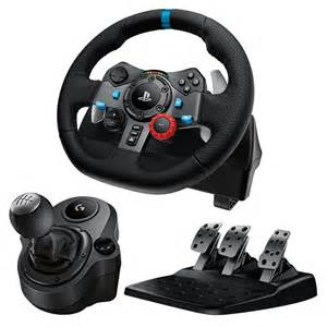 Steering Wheels That Work With Ps4 Logitech G29 Racing Wheel Ps3 Ps4 Home Shopping