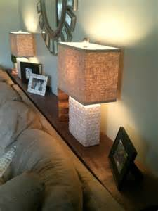 sofa table for lamps behind couch casa pinterest just love the doors and tables