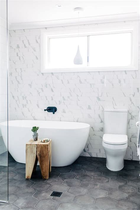 white cement for bathroom tiles 30 tile flooring ideas with pros and cons digsdigs