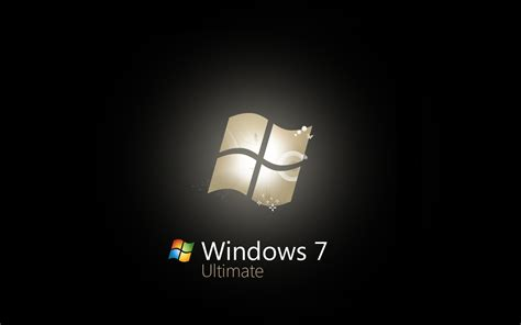 wallpaper for windows 7 ultimate free download windows 7 ultimate logo wallpaper 110806