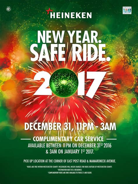 new year program heineken usa announces its 13th annual new year safe