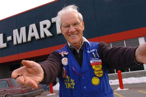 Walmart Door Greeter why wal mart will welcome greeters back into its stores
