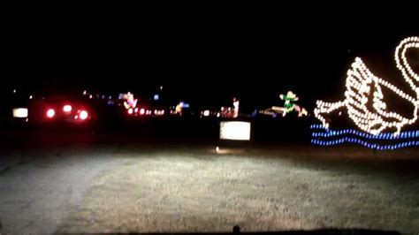 christmas lights at blora 2010 youtube
