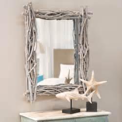 miroir en bois flott 233 h 113 cm fjord maisons du monde