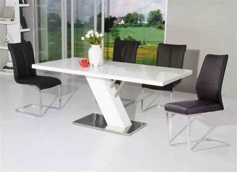 Hooker Dining Room Chairs modern white lacquer dining table modern dining
