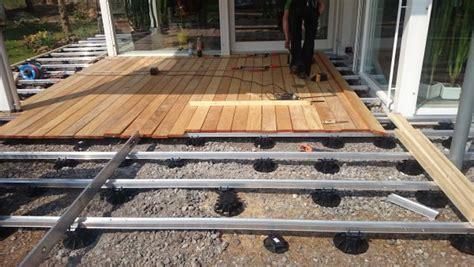 terrasse unterkonstruktion alu holzterrasse unterkonstruktion alu hu01 hitoiro