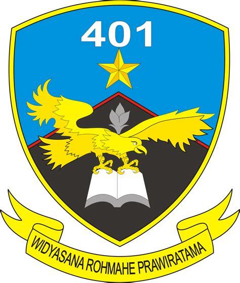 desain gambar lambang logo skadik skadron pendidikan 401 lanud adi soemarmo