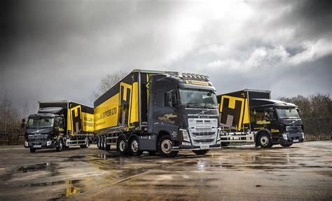 volvo trucks provide local  long distance solutions  hallam express  fleet uk haulier