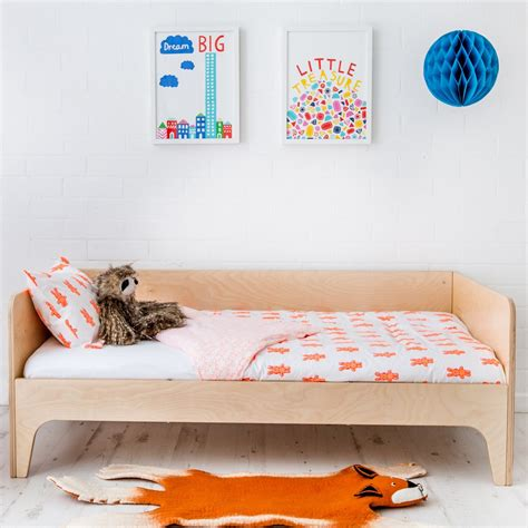 oeuf toddler bed oeuf perch toddler bed birch