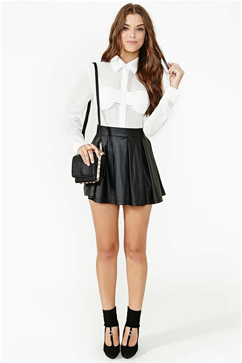 Aurey Blouse N1 3 lyst gal bow blouse in white