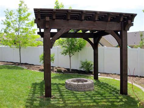 diy pit gazebo install a diy timber frame pergola a fireplace or