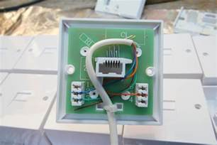 telephone wiring colour code telephone extension socket com