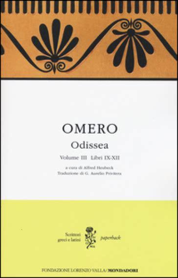 odissea testo odissea testo greco a fronte 3 libri ix xii omero