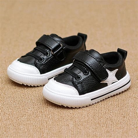 comfortable fashion sneakers children s sport shoes leather boys girls leather shoes