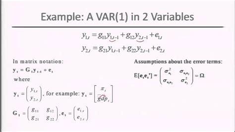 R Tutorial Vector Autoregression   module 5 session 2 estimation of vector autoregression
