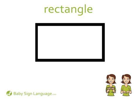 printable flash cards sign language rectangle