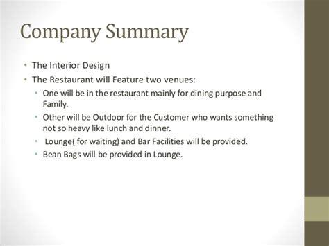 description of an interior design business