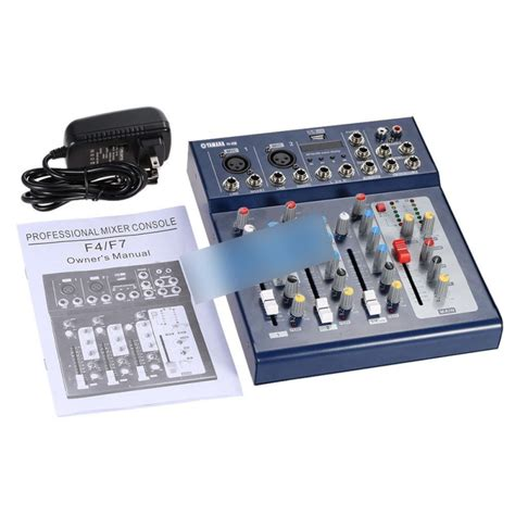 Mixer Yamaha Usb yamaha f4 usb 4 channel professional powered mixer oem other accessories